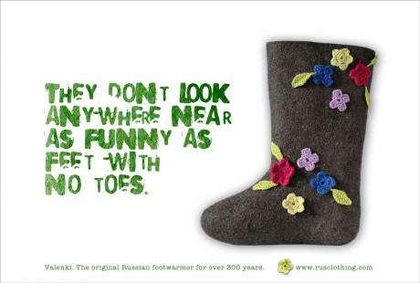 Funny Felt for Feet