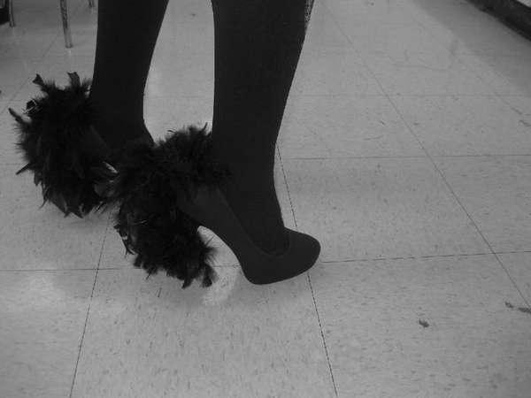 Fringed Furry Footwear