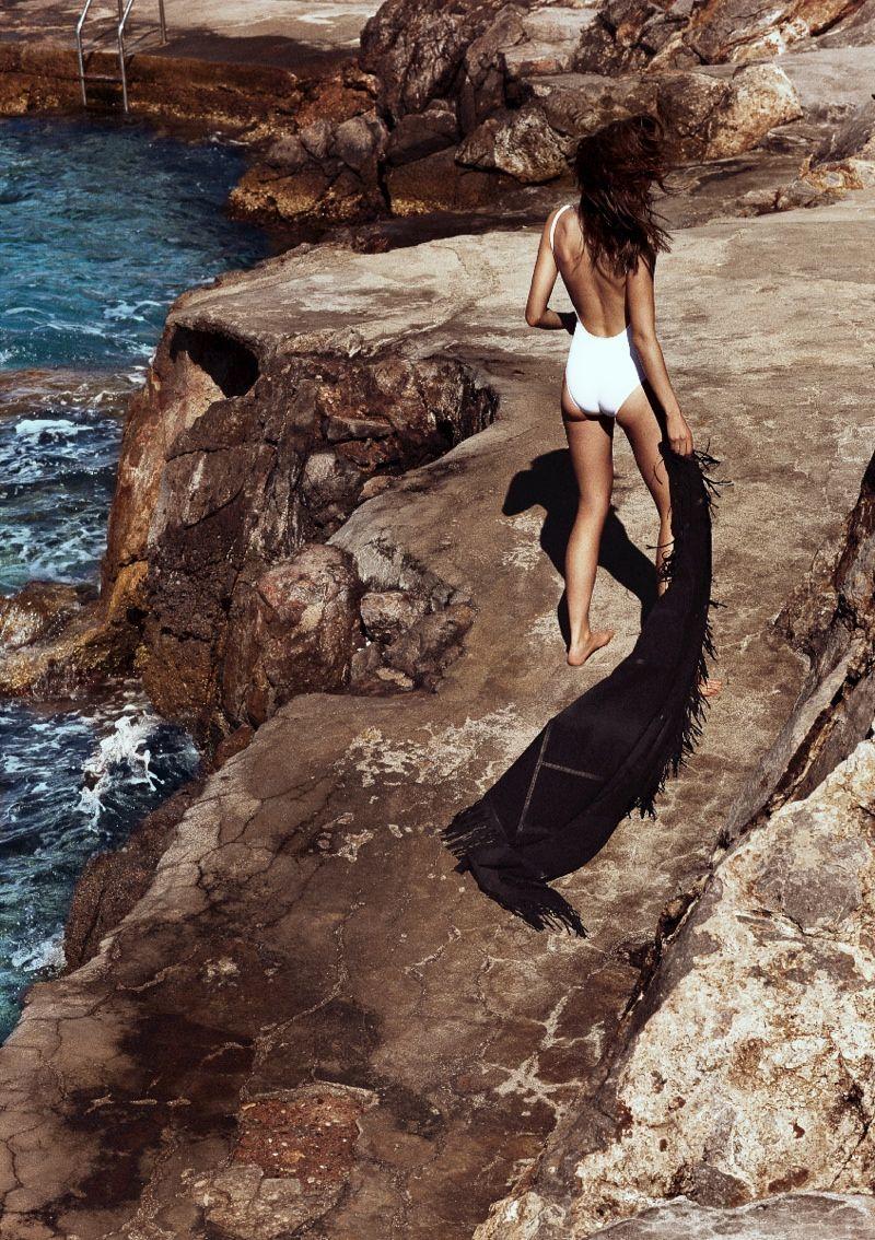Grecian Beachwear Editorials