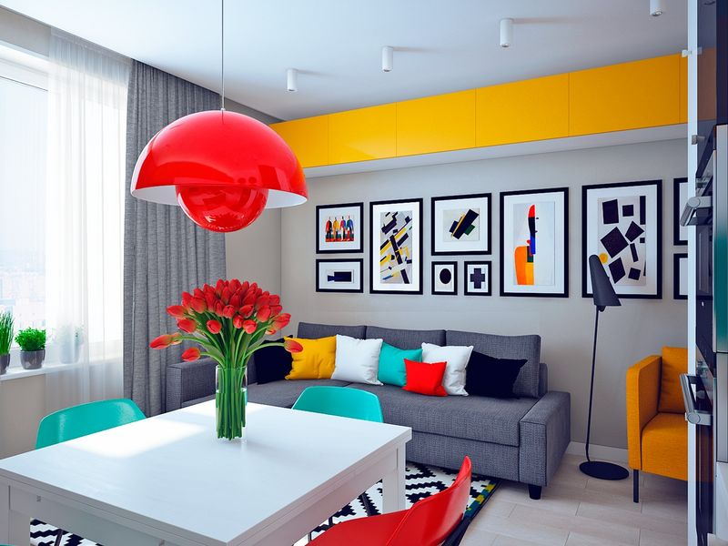 Diversely Styled Living Spaces