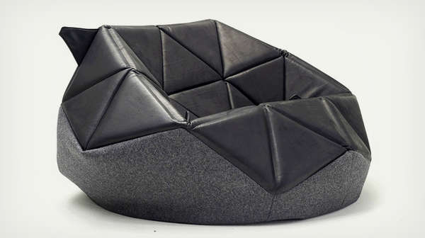 stylish bean bag chair