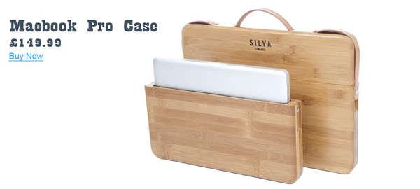 Bamboo Computer Cases : stylish laptop case