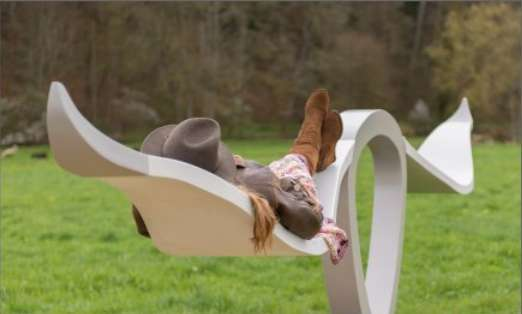 Statuesque Horned Seating