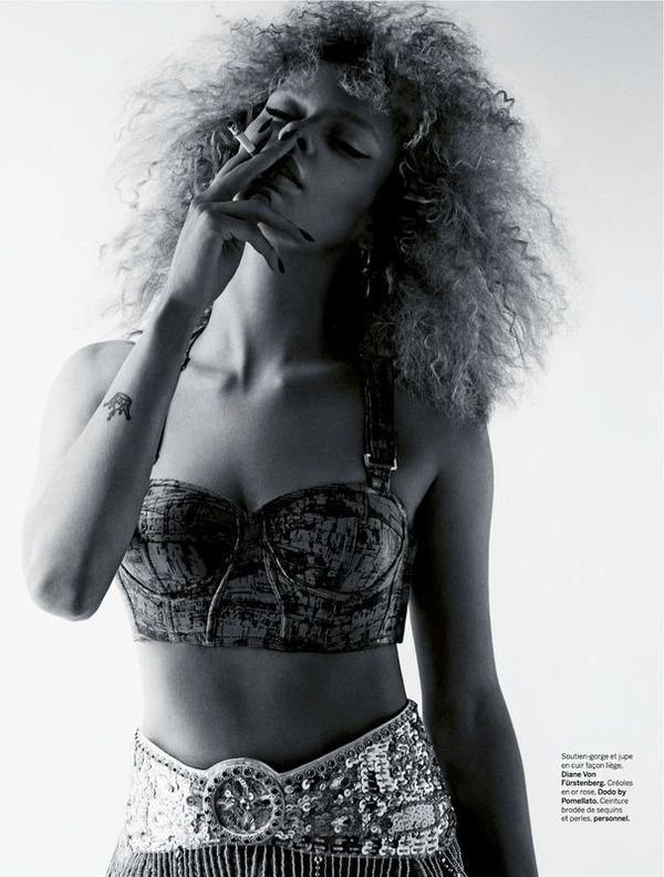 Smouldering Afro Editorials