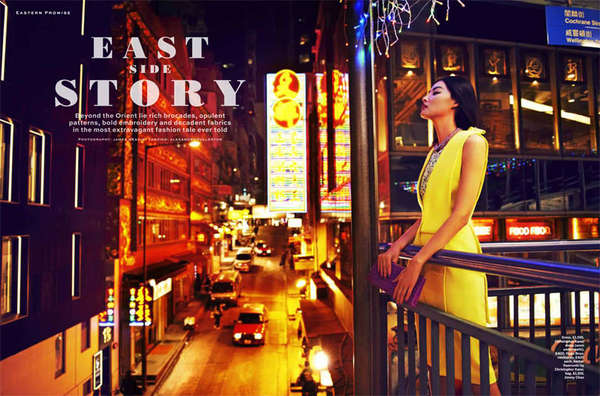 Stylist Magazine 'East Side Story'