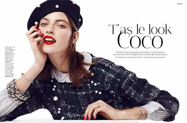 Stylist Magazine 'T'as le Look Coco'