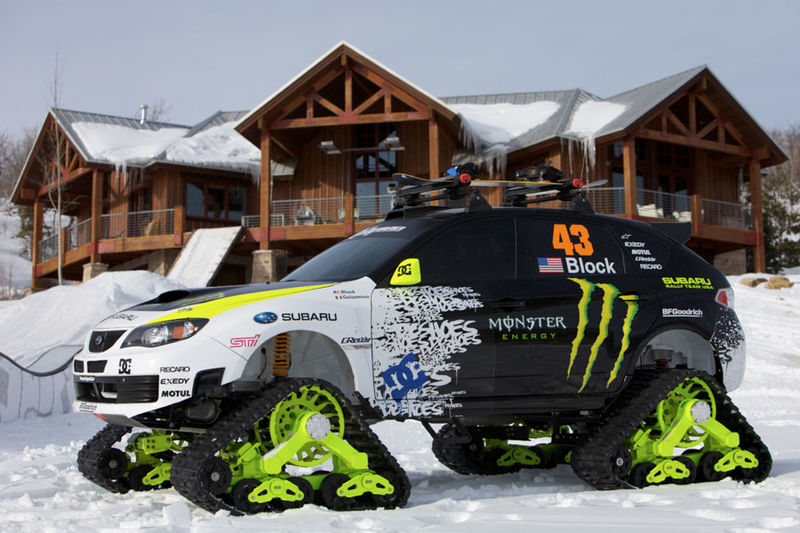 Snow-Cat SUVs