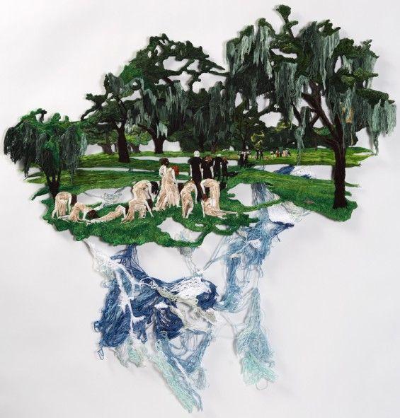 Sublime Embroidered Artworks