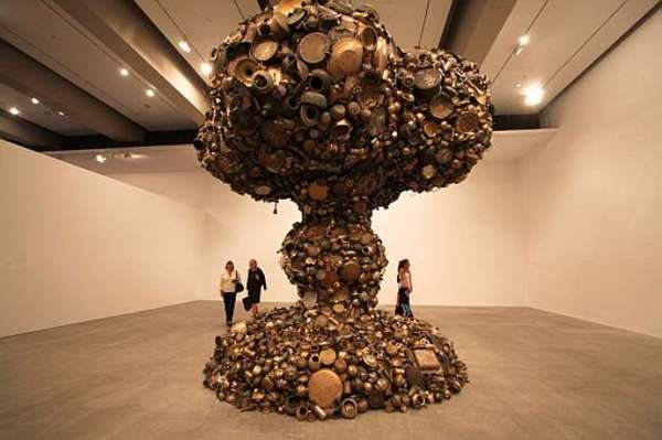 Nuclear Kitchen Art Subodh Gupta