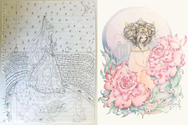 Enhanced Childhood Drawings