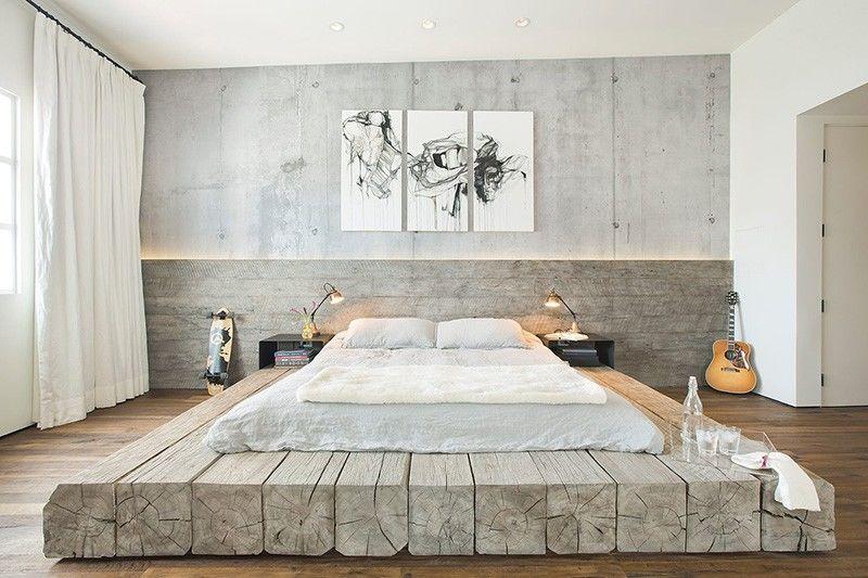 Reclaimed Log Beds