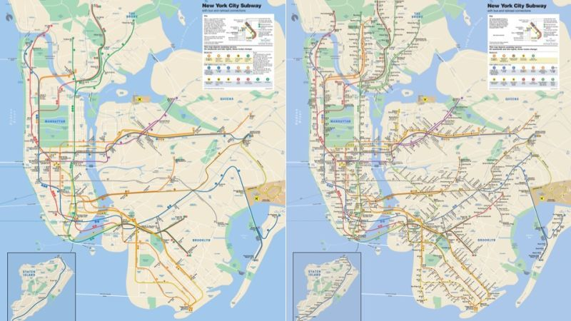 Wheelchair-Focused Transit Maps