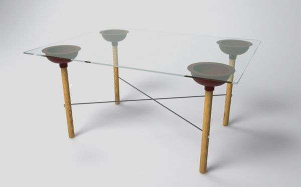 Plunger-Base Furniture
