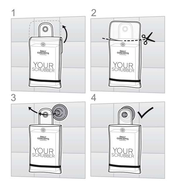 Convenient Shower-Ready Packaging