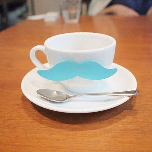 Memorable Mustache Stickies