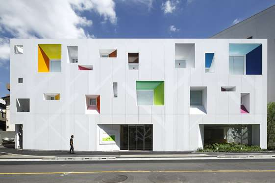 Cutout Cube Architecture