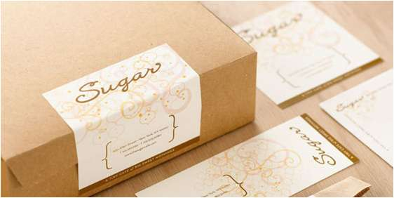 sugar cafe packaging