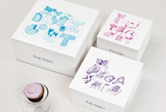 Sugar Daddy-s Cupcakes Packaging