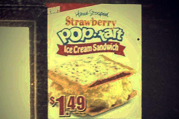 Frozen Breakfast Pastry Sandwiches