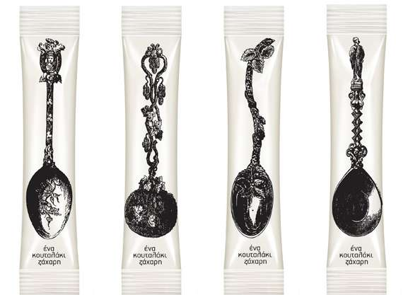 Antique Spoon Branding