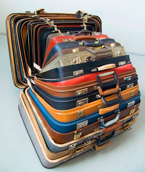 Louvre-Worthy Luggage