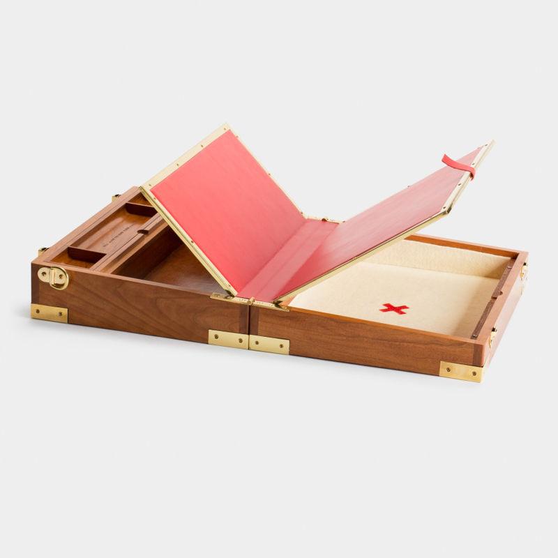 Collapsible Suitcase Desks