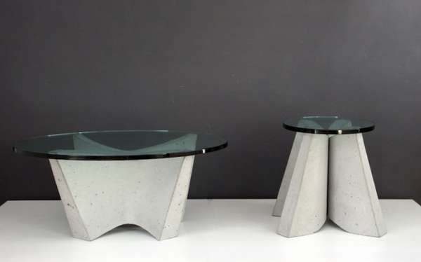 industrial city inspired furniture cement furniture