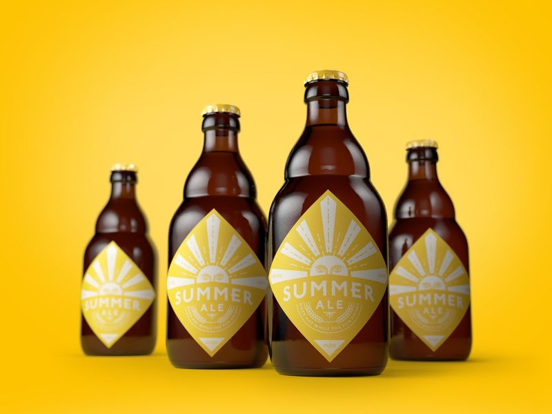 Summery Beer Packaging