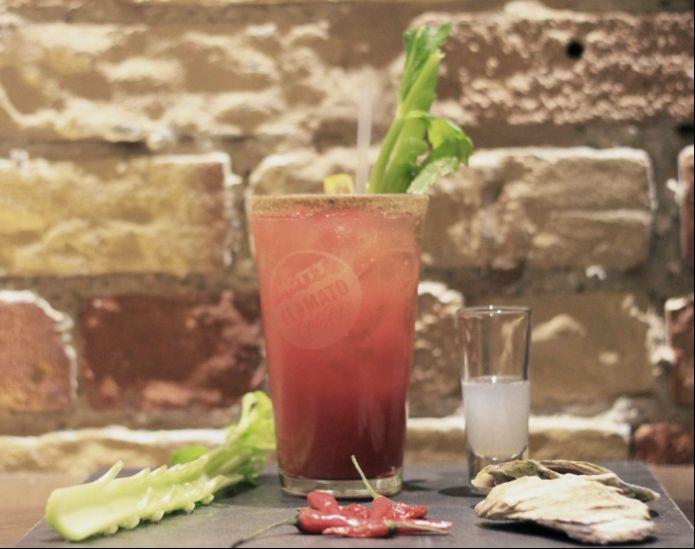 Patriotic Ceasar Cocktails