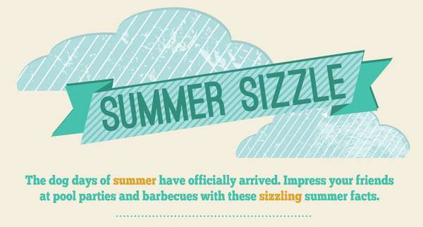 summer sizzle infographic