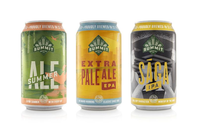 Proud Minnesotan Beer Cans