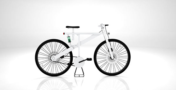 Sleek Heavy-Duty City Bicycles