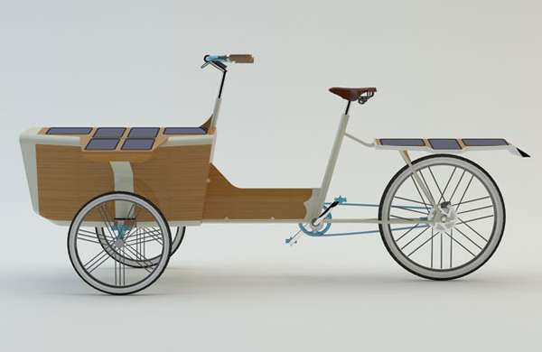 Solar-Powered Cargo Cycles