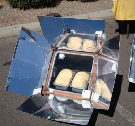 Solar Generated Stoves