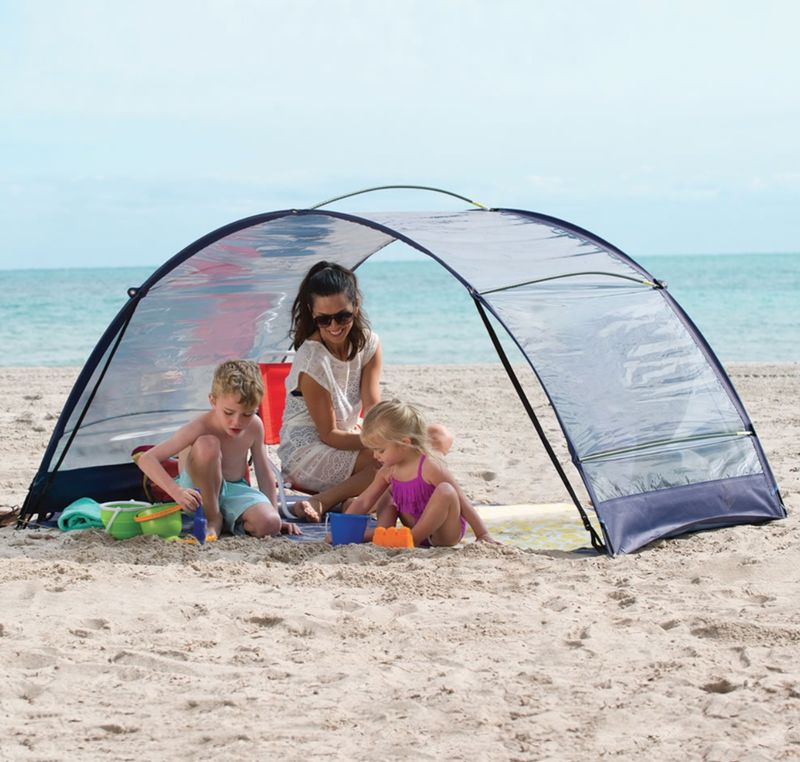 Sun-Filtering Tents
