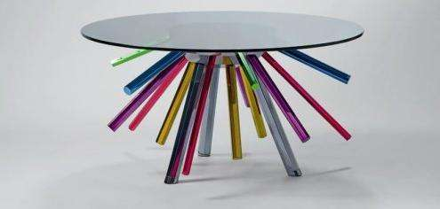 Rainbow Legged Tables