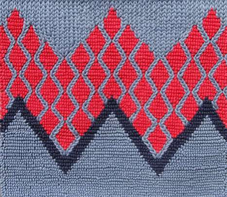 Sweater-Patterned Carpets