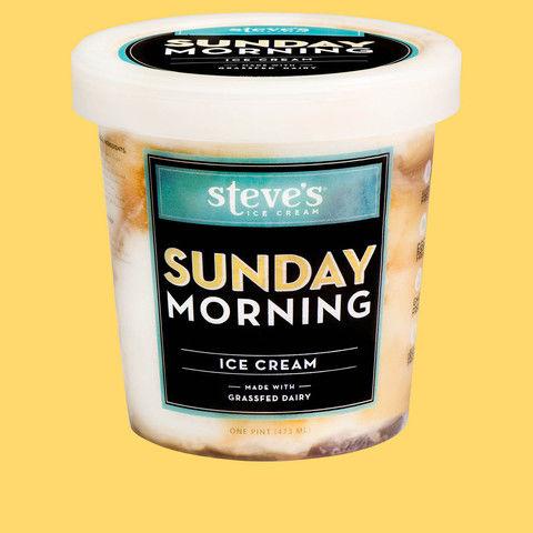 Breakfast-Themed Ice Creams