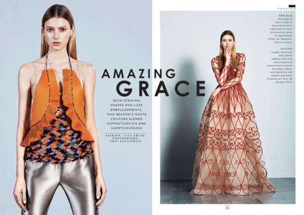Sunday Times Style 'Amazing Grace'