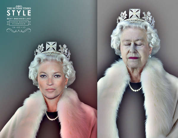 Fashionably Crowned Celeb Ads