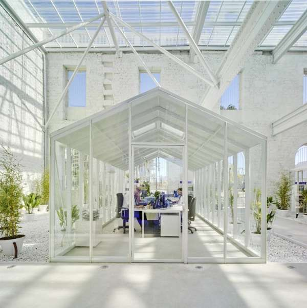 Renovated Greenhouse Abodes