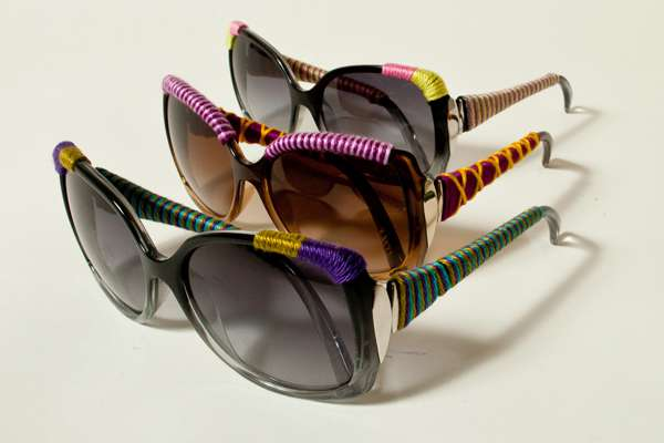 Yarn-Bombed Shades