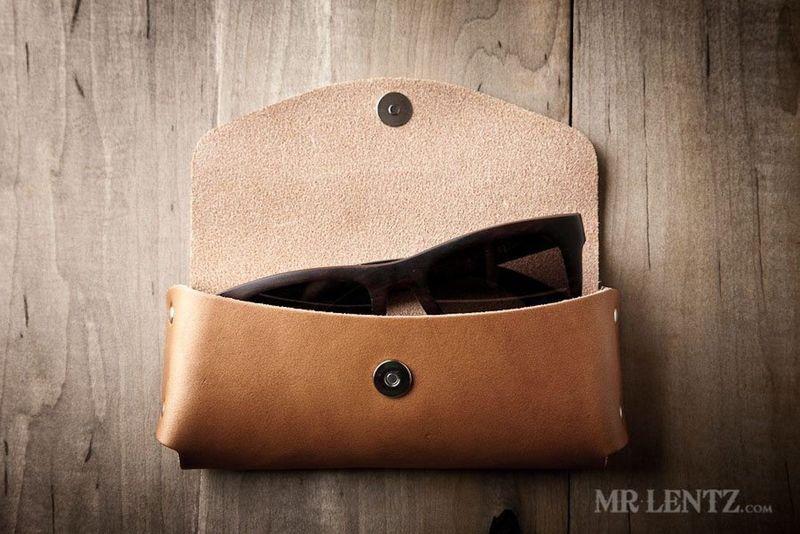 Premium Leather Sunglasses Protectors
