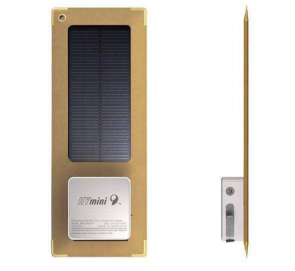 Solar-Powered Postcards