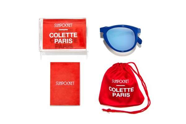 sunpocket x colette sunglasses