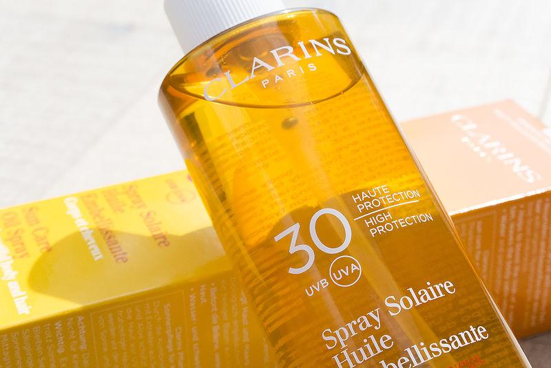 Sunscreen Oil Hair Sprays