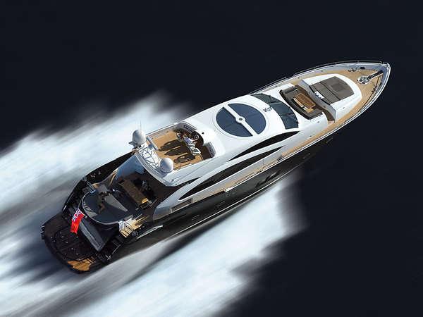 Luxe Predator-Inspired Yachts