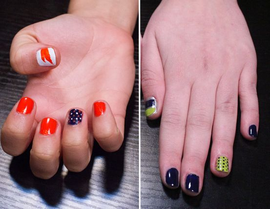 Football-Inspired Manicures