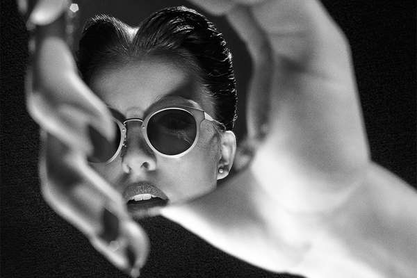 Film Noir-Like Eyewear Ads