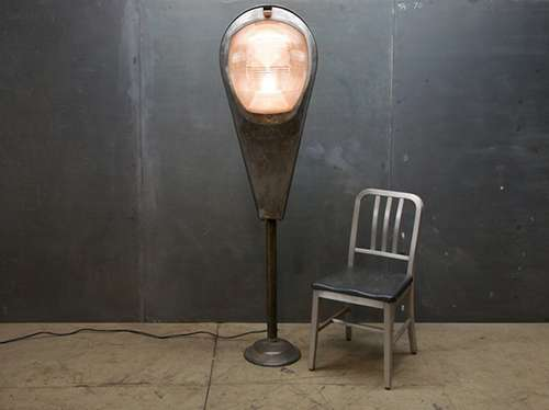 Urban Upcycled Lamps
